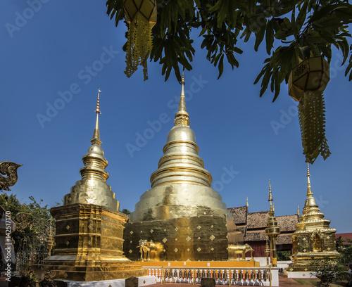 Fotografia  tempio buddista in Thailandia