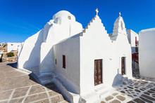 Church Panagia Paraportiani, Mykonos