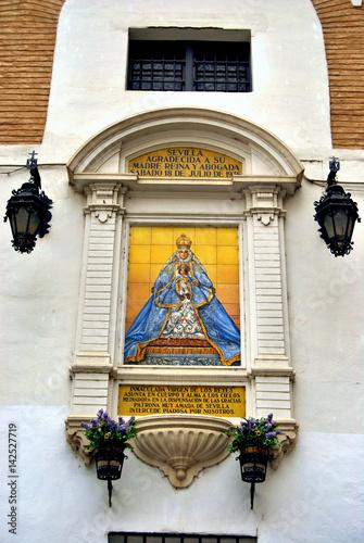 Fotografie, Obraz  Retablo Virgen de los Reyes de Sevilla
