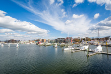Spa Creek, In Annapolis, Maryland.