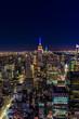 Nighttime in New York