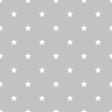 Star Background Grey Color Vector