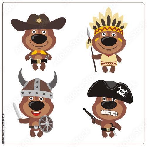 Bears Vs Cowboys Cartoon Wwwnaturalrugsstore