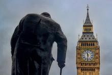Winston Churchill Und Big Ben