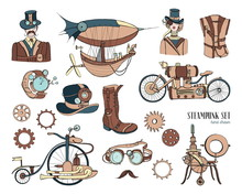 Steampunk Objects And Mechanis...