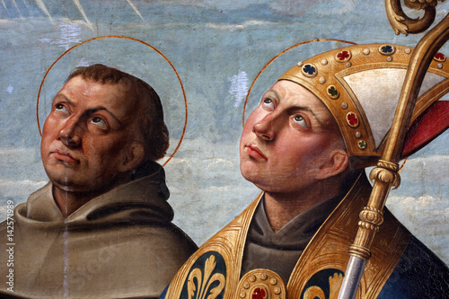 Obraz na plátně  Girolamo da Santa Croce: St