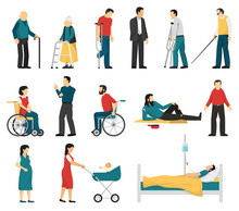 Disabled People Set