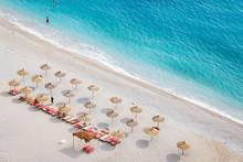 Gjipe Beach On The Mediterrane...