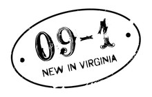 New In Virginia Rubber Stamp. ...