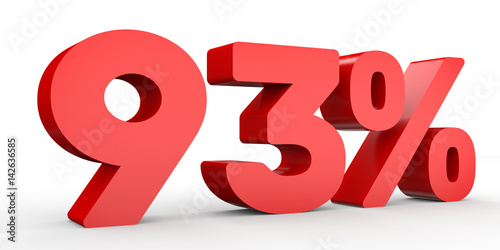Fotografie, Obraz  Ninety three percent off. Discount 93 %.