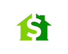 House Money Icon Logo Desing Element