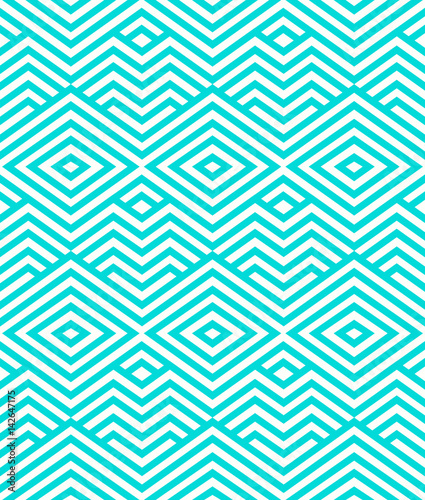 fototapeta na szkło Abstract Seamless Pattern