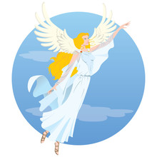 Illustration Beautiful Angel...