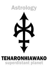 Astrology Alphabet: TEHARONHIA...