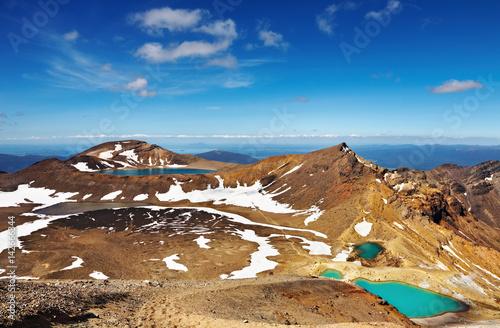 Foto  Volcanic landscape, New Zealand