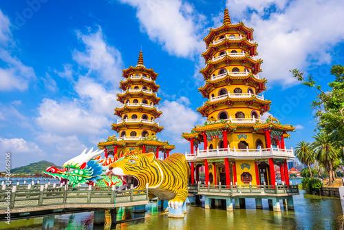 Valokuva  Kaohsiung, Taiwan Pagodas