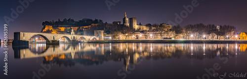Photo Panorama Avignon Nuit