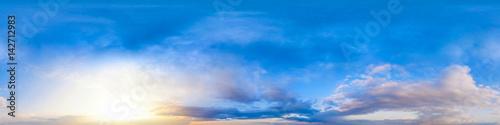 Fotografia  Seamless 360 degree spherical panorama of the sky