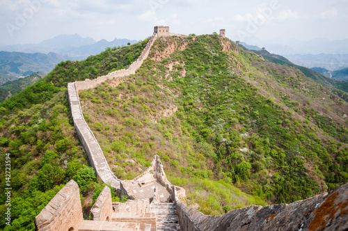 Foto op Plexiglas Xian Greta whatch tower of great wall by Simatai in China