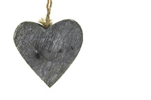 Isolated Wooden Heart