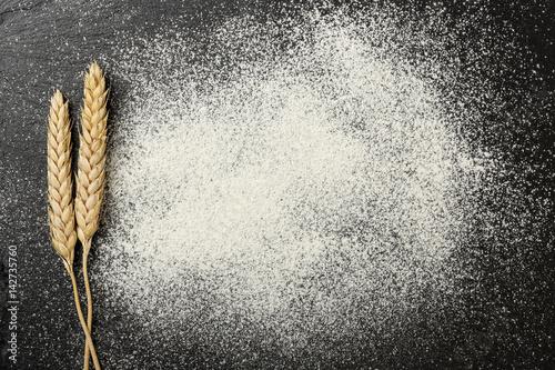 Fototapeta flour on stone obraz