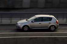 Gray Car.