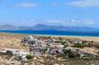 Holiday village on Sotavento beach on Jandia peninsula, Fuerteventura, Canary Islands, Spain