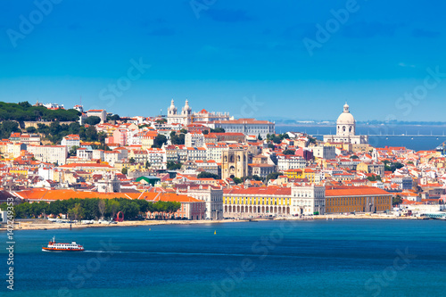 Panorama of Lisbon, Portugal Canvas Print