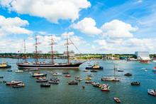 Tall Ship At Amsterdam Sail