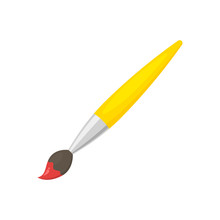 Paint Brush Vector Isolated