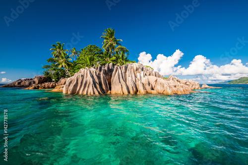 Foto op Canvas Eiland St. Pierre Island at Seychelles