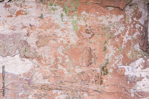 Canvas Prints Old dirty textured wall Wall with peeling paint background