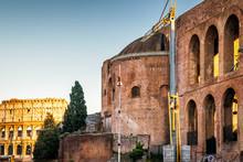 Basilica Of Maxentius And Constantine, Rome