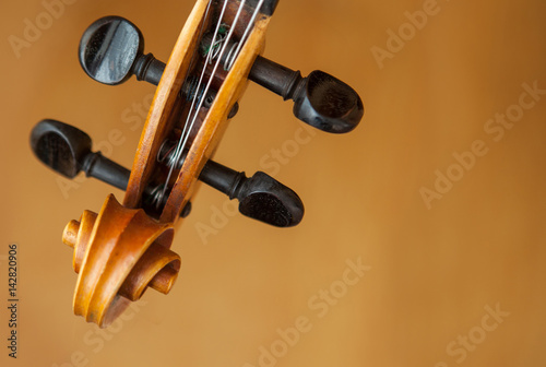 Old violin music concept - Buy this stock photo and explore