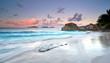Farbenspiel am Strand, Seychellen
