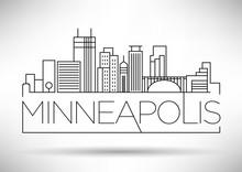 Minimal Minneapolis Linear Cit...