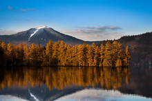 Snowy Whiteface Mountain With ...