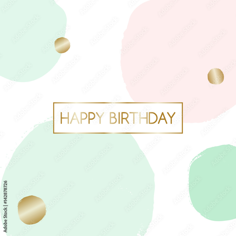 Birthday Greeting Card Design Foto Poster Wandbilder Bei EuroPosters