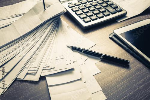 Photo Accounting Work