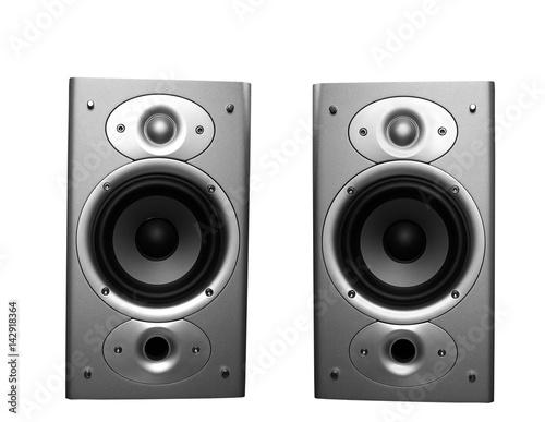 Fotografía  Home stereo speakers