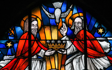 Stained Glass - the Holy Tr...