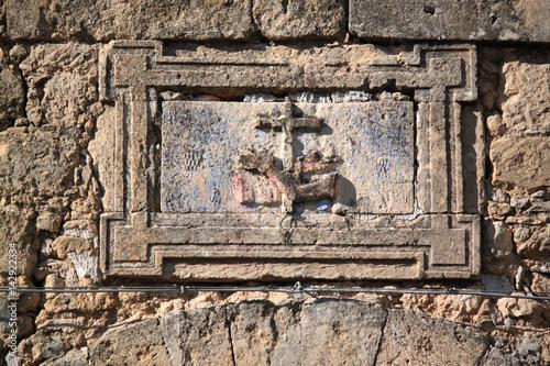 Poster Artistiek mon. icona artistico storico siciliano