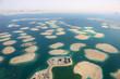canvas print picture - Dubai The World Welt Insel Inseln Panorama Luftaufnahme Luftbild
