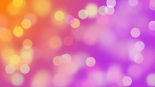 Luxury Bokeh Background In Shades Of White, Purple And Orange