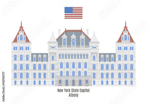 New York State Capitol, Albany Wallpaper Mural