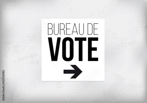 Attention au bureau de vote