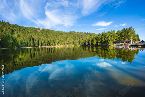 Canvas Prints Mountains The Mummelsee,_Black Forest, Baden-Wuerttemberg, Germany
