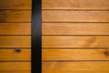 wooden planks with knots in a horizontal parallel pattern