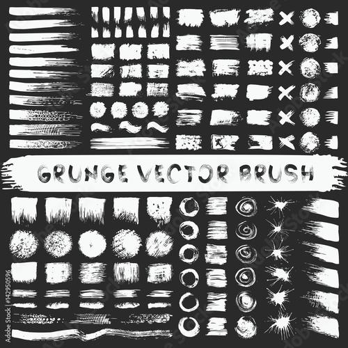 Grunge stripes mega set Poster Mural XXL