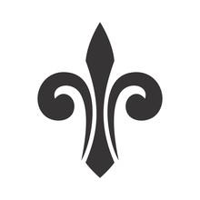 Fleur De List Logo Vector.